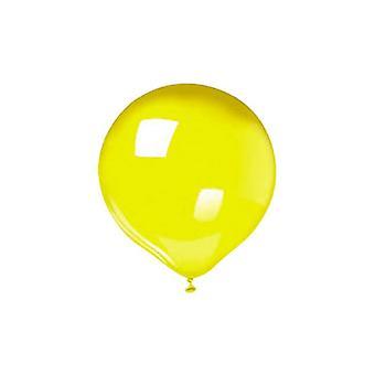 """25 μπαλόνια 12""""/30cm - Κίτρινο"""