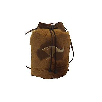 Jacaru 5624 saco de pele de canguru redondo
