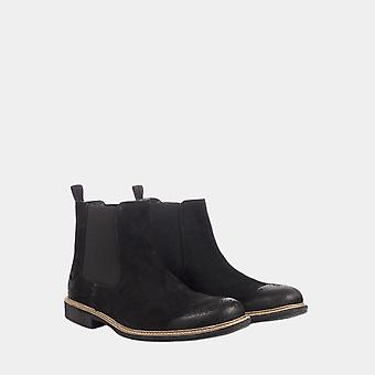 Clough chelsea boot black