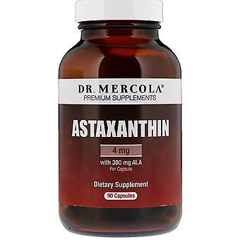 Dr. Mercola, Astaxanthine, 4 mg, 90 Capsules