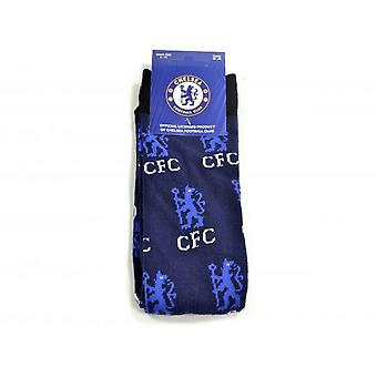 Chelsea FC Unisex Adults All Over Print Socks