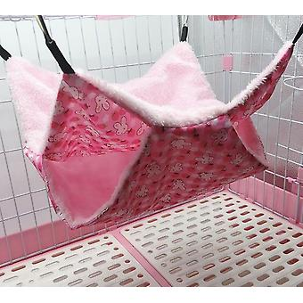 Pet Warm Hammock Hamster Hang Mat - Bed Seat Cage For Sleeping