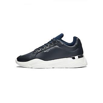 Mallet Kingsland Navy Leather Sneaker
