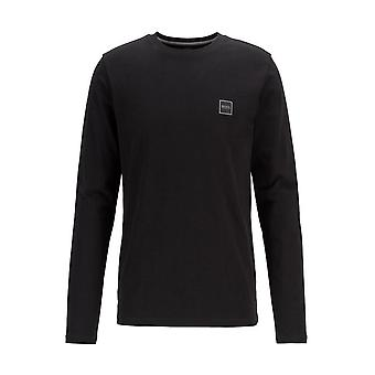 Hugo Boss casual Hugo Boss mænd ' s Sort langærmet T-shirt