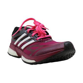 Kids Adidas Boys resposta impulsionar techfit Tecido Low Top Lace Up Walking Shoes