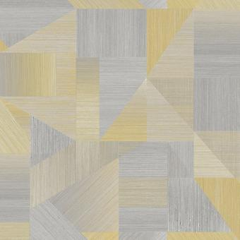 Laronda Geometric Wallpaper Yellow Holden 65751