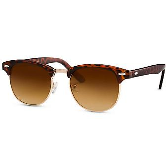 Sunglasses Unisex brown (turtle)-gold/green (CWI725)