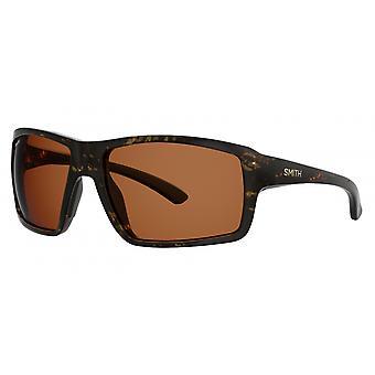 Aurinkolasit Unisex Hookshot polarisoi tummanruskea/oranssi
