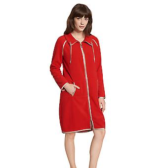 Féraud Casual Chic 3201220-16354 Women's Red Loungewear Jacket