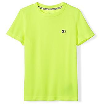Starter Boys' Lyhythihainen Tech T-paita, Exclusive, Turvallisuus Keltainen, M (...