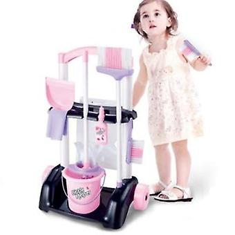 1 Pcs/set Playhome Kids Housekeeping Cleaning Washing Machine Mini Clean Up Play Toy Gift D33