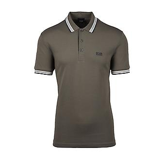 BOSS Athleisure Boss Paddy Polo Shirt Dark Green