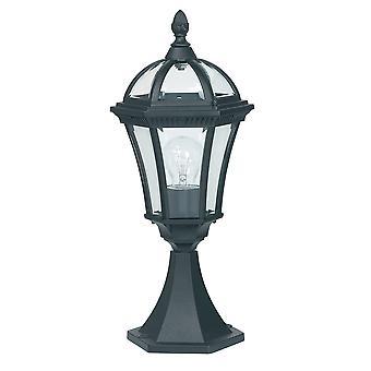 Outdoor Pedestal Light Black IP44, E27