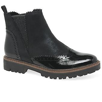 Marco Tozzi Judibell Womens vingspetsen Chelsea Boots