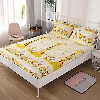 Cubierta del colchón de la cama del hogar del estiramiento, impermeable anti-mancha ajustada hoja de la cama elástica