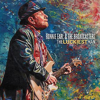 Earl*Ronnie & Broadcasters - Luckiest Man [CD] USA Import