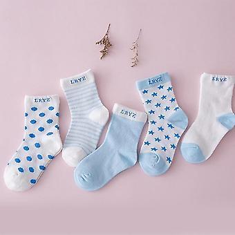 Comfortabele ademende katoenen sokken