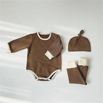 Spring Autumn 0-24m Newborn Baby Pajamas Set
