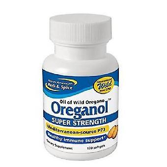 North American Herb & Spice Oregano Oil Super Strength, 120 Count