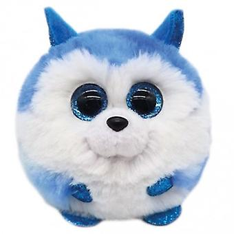 TY Puffies - Prince the Husky Plush Toy
