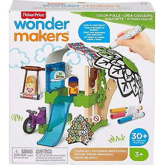 Fisher-Price Wonder Makers Treehouse 30 pieces