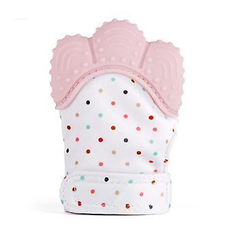 Unik konvex design, silikontändervanthandske för spädbarn