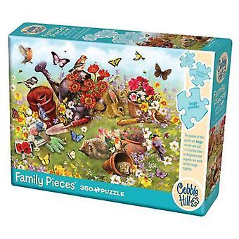 Cobble hill puzzle - garden scene - 350 pc