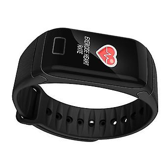 F1 Plus WearFit Activity wristband with color display-black