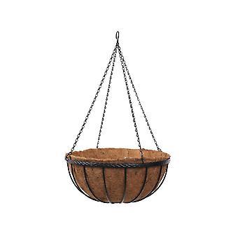 Smart Solar Saxon Hanging Basket 12 Inch 6030030