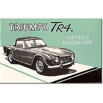 トライアンフ TR4 オーナー ハンドブックパート No 510326