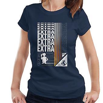 E.T. Extra Terrestrial Mirrored Text Women's T-Shirt