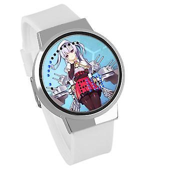 防水ルミナスLEDデジタルタッチ子供の時計 - アズールレーン#43