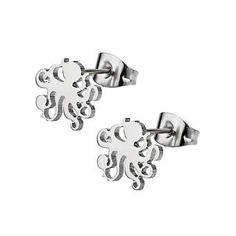 Octopus ear studs - pair of laser cut studs 22g earring cartilage rook daith