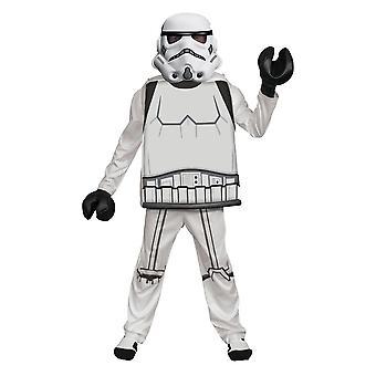 Boy's Stormtrooper Lego Deluxe -puku - LEGO Star Wars