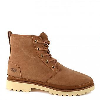 UGG Harkland Suede Boots Chestnut