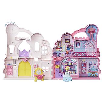 Principessa Disney b6317 castello rosa - playset e custodia con bambola cenerentola