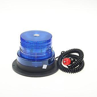 Led Magnet Mount Construction Vehicle Car Warning Strobe Light, Beacon Amber,