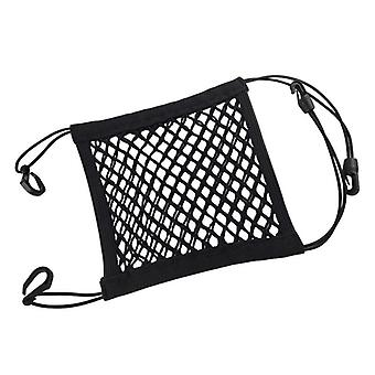 Universal Car Organizer Net, Mesh, Trunk Goods Storage Accessories (preto)