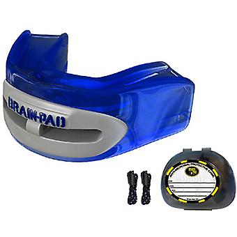 Brain Pad Pro+ Mouthguard - Blue/Gray