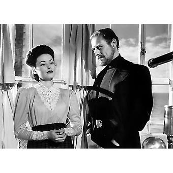 The Ghost And Mrs Muir Gene Tierney Rex Harrison 1947 20Th Century-Fox Film Corporation Tm & CopyrightCourtesy Everett Collection Photo Print