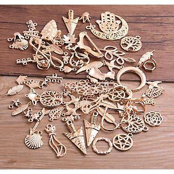 Vintage Metalli Satunnainen Tyyli Charm Riipuksia 20kpl