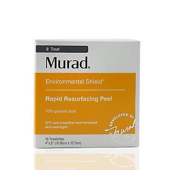 Murad životného štítu rýchle resurfacing Peel 16towelettes