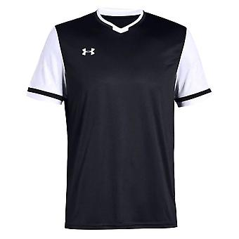 Under Armour Mens Maquina 2.0 Jersey Sports Gym Top Black 1328131 001
