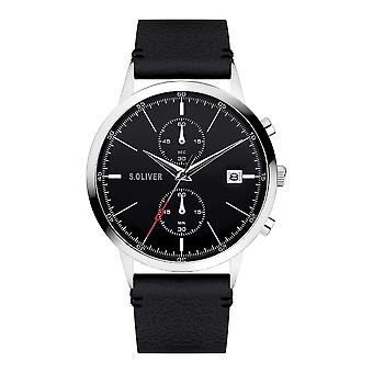 s.Oliver SO-4124-LC Men's Watch Chronograph