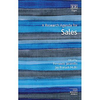 A Research Agenda for Sales