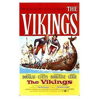 Viikingit elokuvajuliste (11 x 17)