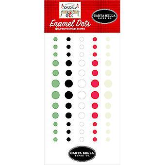 Carta Bella Farmhouse Christmas Enamel Dots