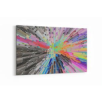 Schilderij - Prachtige abstracte kunst — 90x60cm