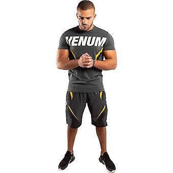 Venum One FC Impact T-shirt Grå/Gul