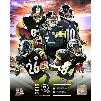 Pittsburgh Steelers 2015 Photo Composite Sports d'équipe